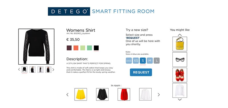 Smart Fittim Room Screenshot