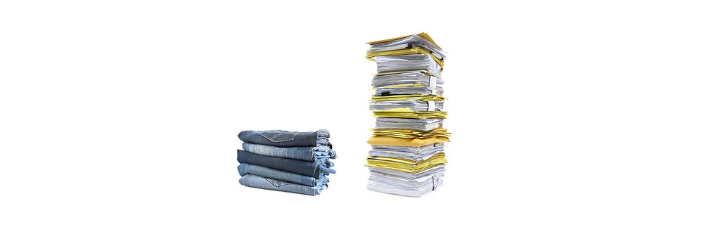 Fashion Retail vs Paperwork