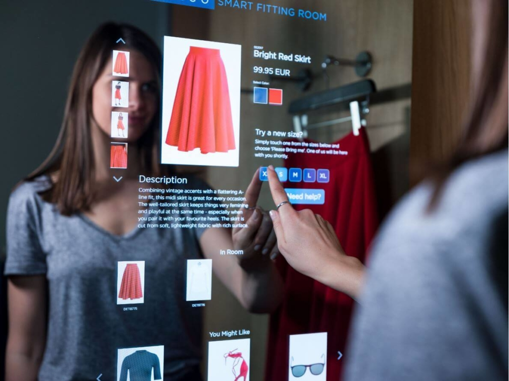Detego Smart Fitting Room