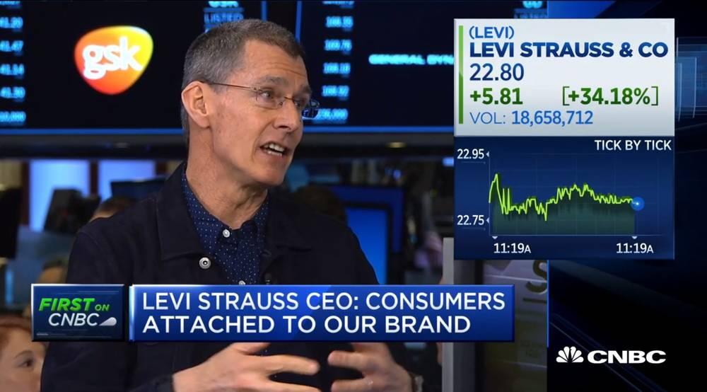 Levi's on CNBC