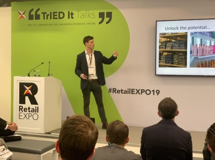 Detego's presentation: 'Unlocking the potential of RFID'
