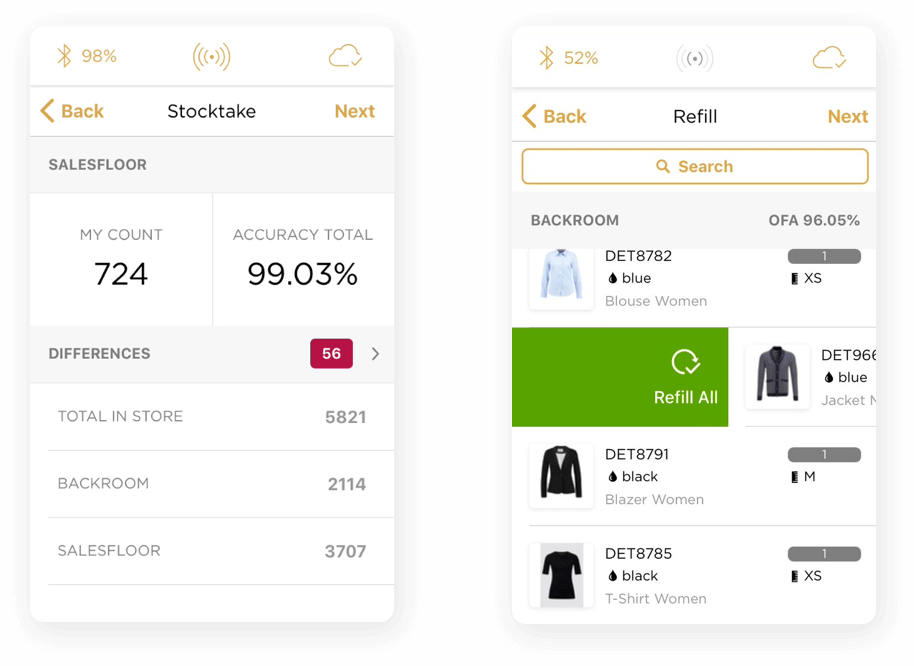 Detego for the Store Screenshots