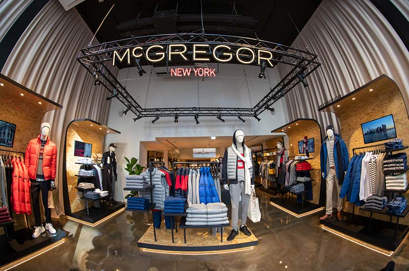McGregor Shop Floor