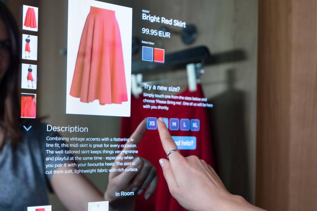 Detego Smart Fitting Room