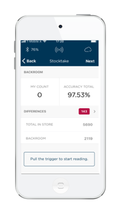 Guided Stocktake app