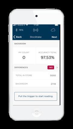 Guided Stocktake app